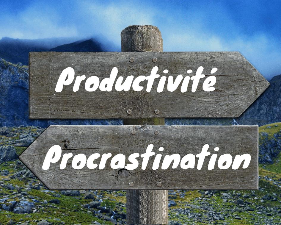 panneau-procrastination-étudiante